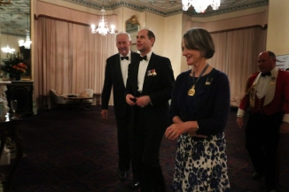 Dinner at Government House
